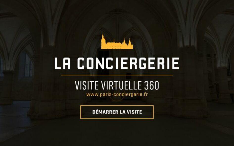 Accueil de la visite virtuelle de la Conciergerie