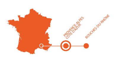 Carte localisation montmajour