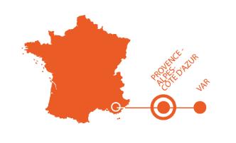 Carte localisation thoronet