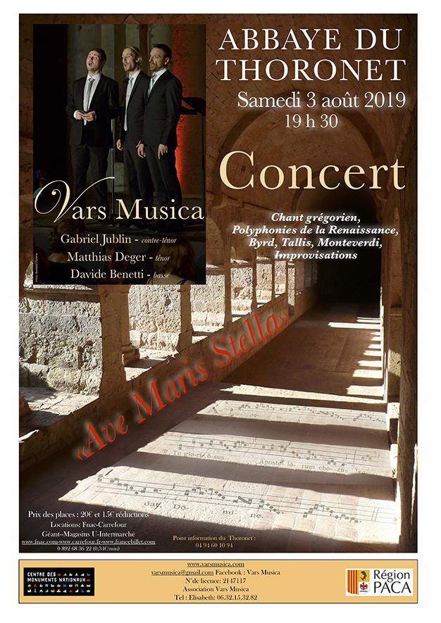 Vars musica à l'abbaye du Thoronet
