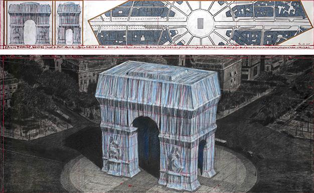 Arc de Triomphe empaqueté - Cultea