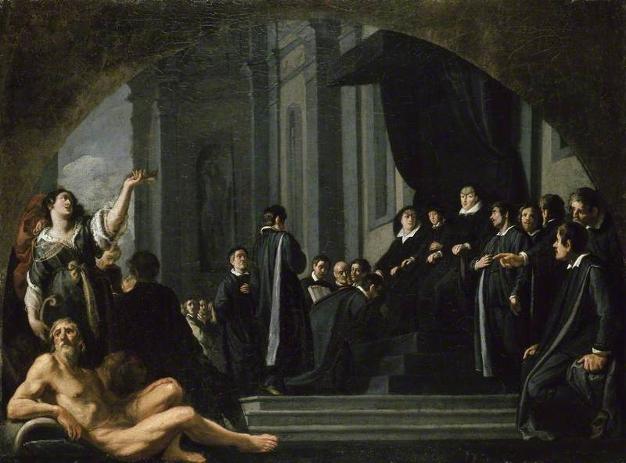 Les sénateurs de Florence jurant allégeance à Ferdinand II de Medicis
