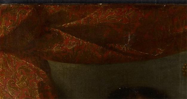 Duc de Savoie, zoom tissu