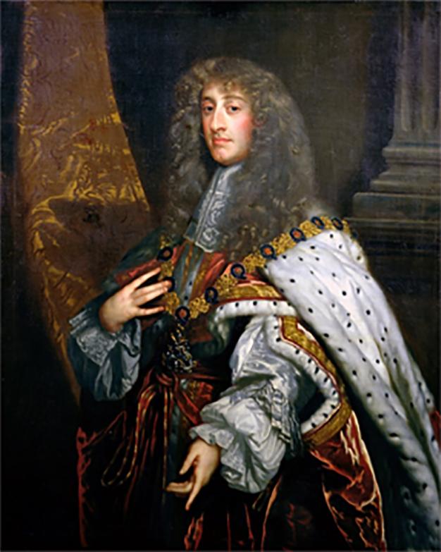 Portrait de James II of England