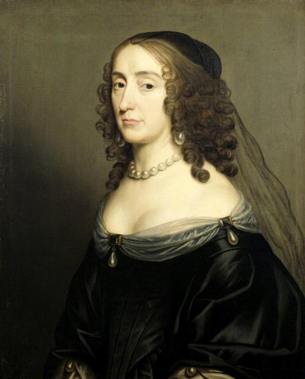 Portrait d'Elizabeth, Reine de Bohème
