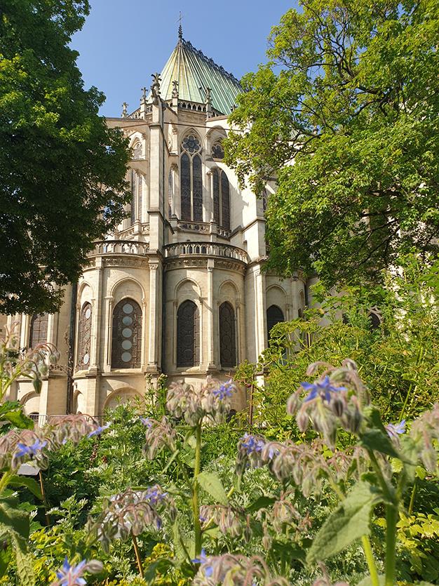 Chevet Basilique de Saint-Denis