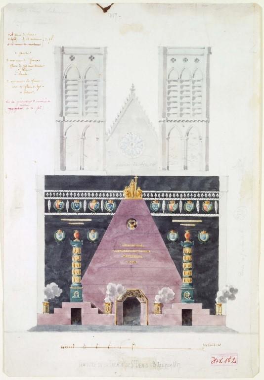 Marie-Antoinette à la basilique de Saint-Denis