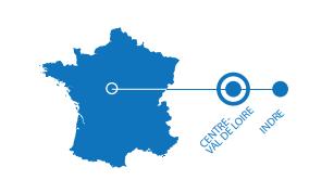 Carte localisation Chateau de Bouges