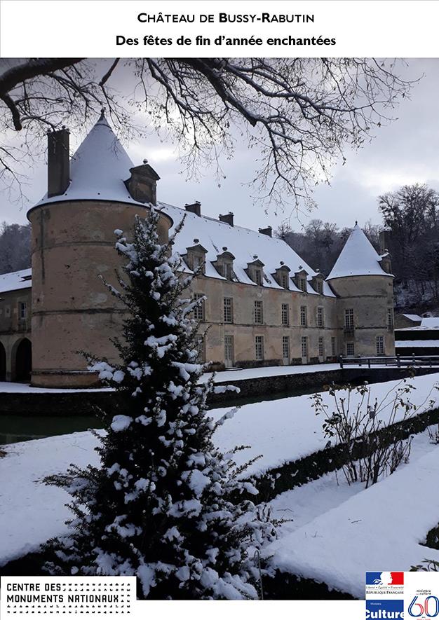 Fêtes de fin d'année au château de Bussy-Rabutin