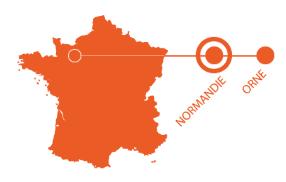 Carte localisation Carrouges