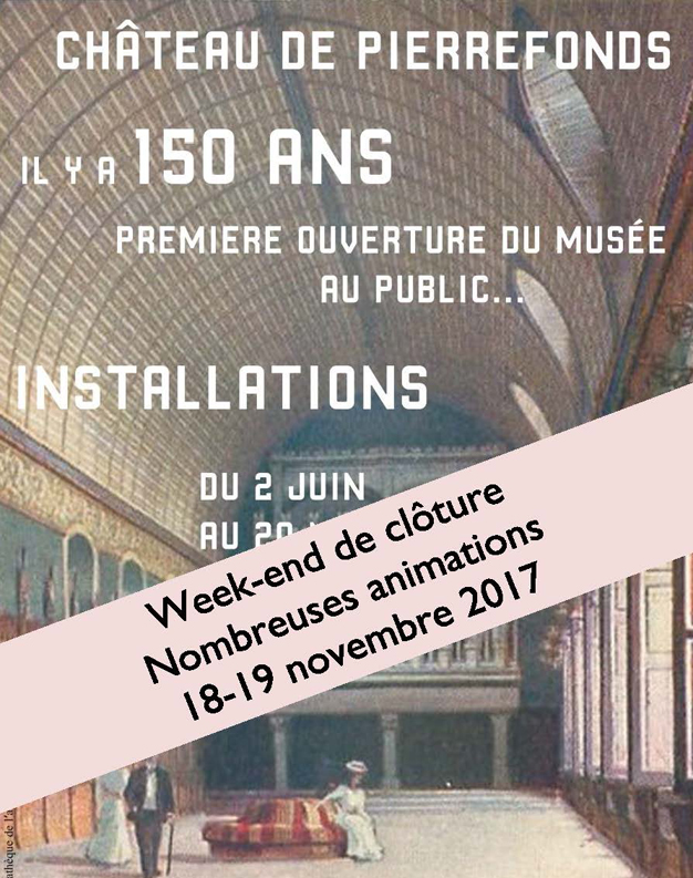 Cloture Exposition Pierrefonds