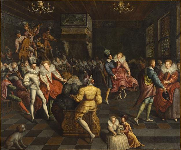 Bal à la cour des Valois, Anonyme français