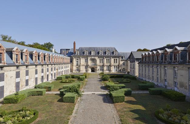 Château de Villers-Cotterêts, cour des offices