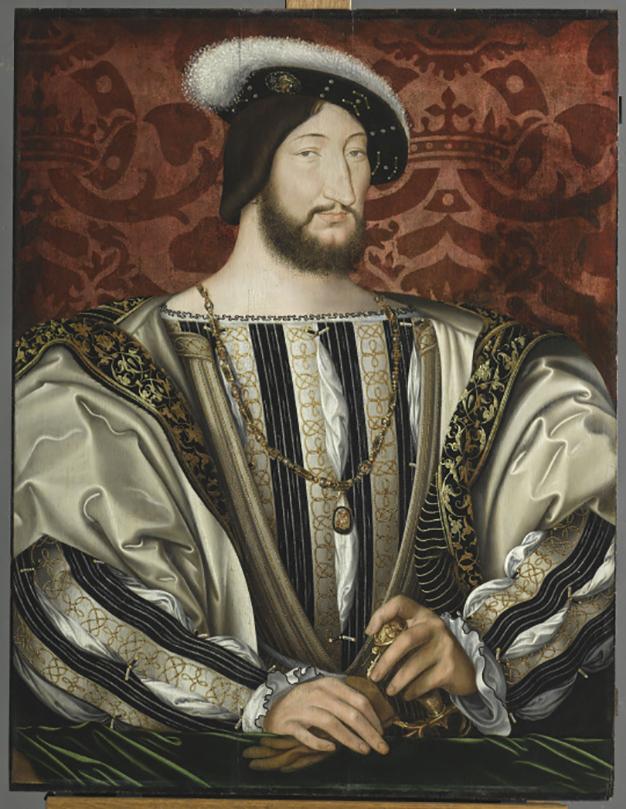 François Ier, roi de France par Jean Clouet