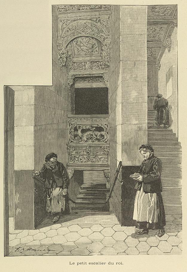 Le petit escalier du roi