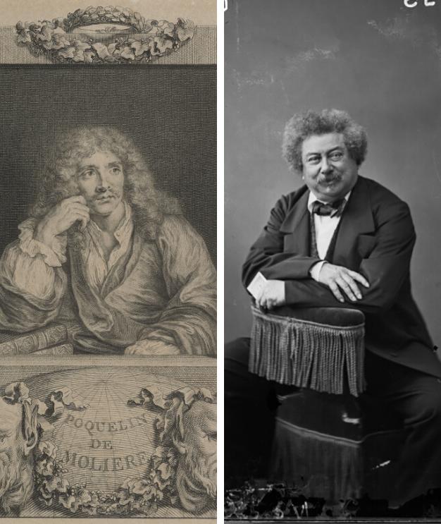 Molière et Dumas