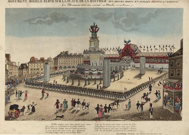 Une Colonne Pour La Place De La Bastille