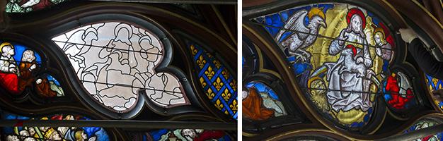 Repose des vitraux - Sainte-Chapelle
