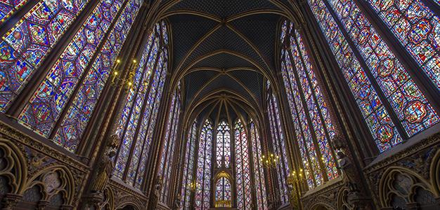 La Sainte-Chapelle après restauration