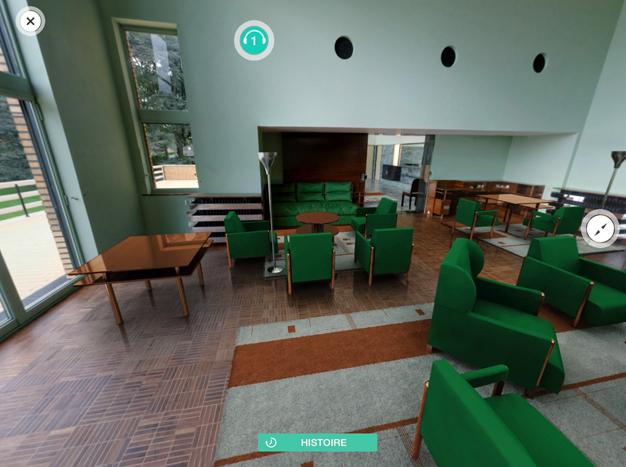 t l chargez l 39 application de visite villa cavrois 3d. Black Bedroom Furniture Sets. Home Design Ideas