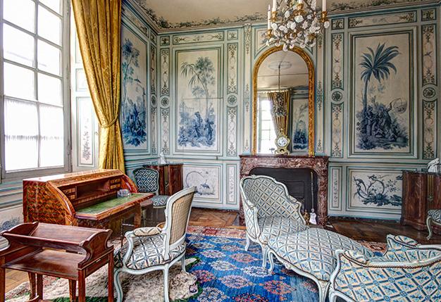 Boudoir camaïeu / château de Champs-sur-Marne