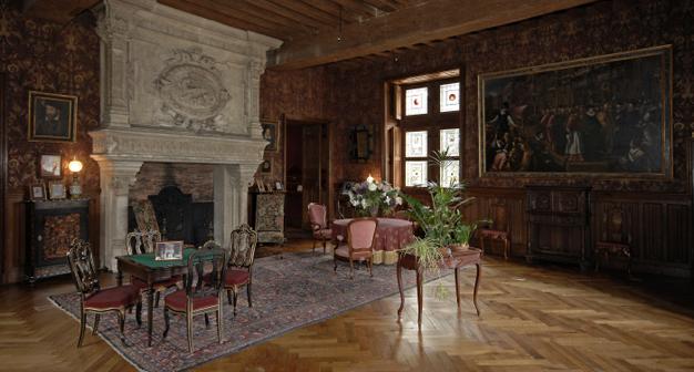 historia del castillo de azay. Black Bedroom Furniture Sets. Home Design Ideas