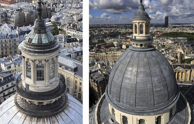 Avant / Après - Lanternon Panthéon