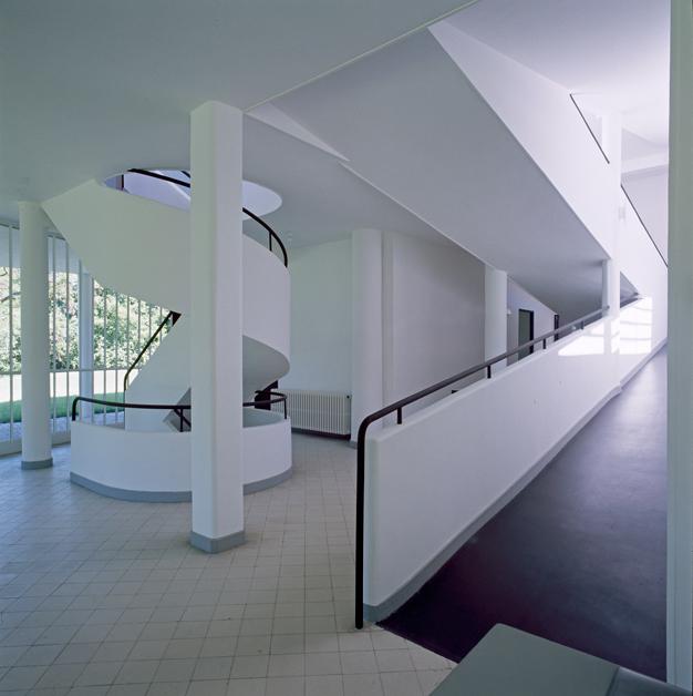 Visites le corbusier et les 5 points vers une for 5 points of architecture
