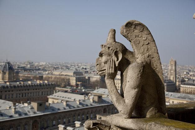 La Stryge de Notre-Dame de Paris