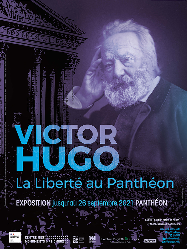 Affiche exposition Victor Hugo
