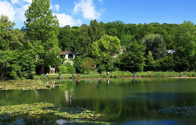 Photo des étangs de Ville d'Avray