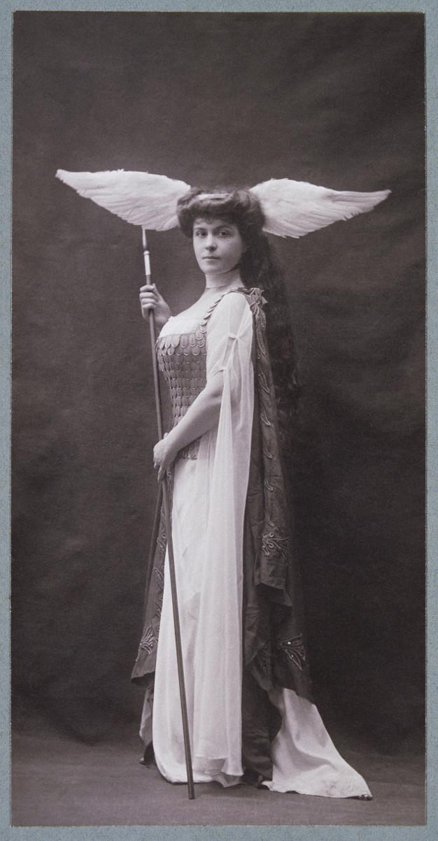 photo de la Comtesse de Rohan Chabot costumée