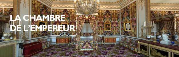 Cliquez pour visiter la Chambre de l'Empereur