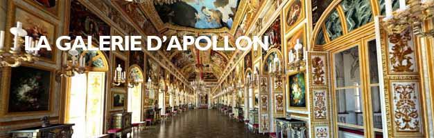 Cliquez pour découvrir la Galerie d'Apollon