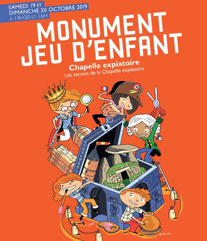 affiche Monument jeu d'enfant