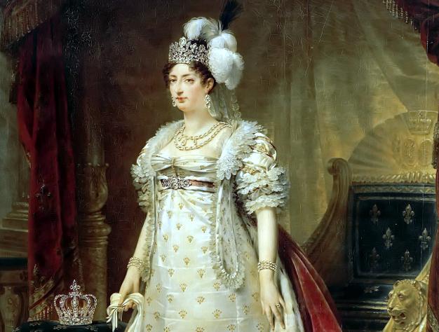portrait en pied duchesse d'Angoulême