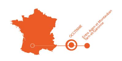 Carte localisation gramont