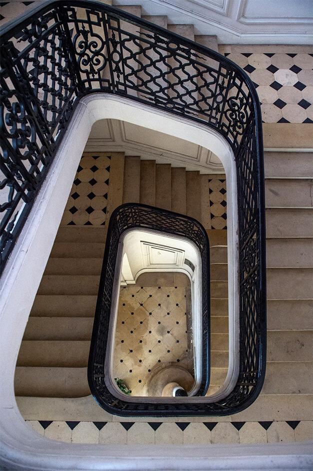 Escalier de l'intendant