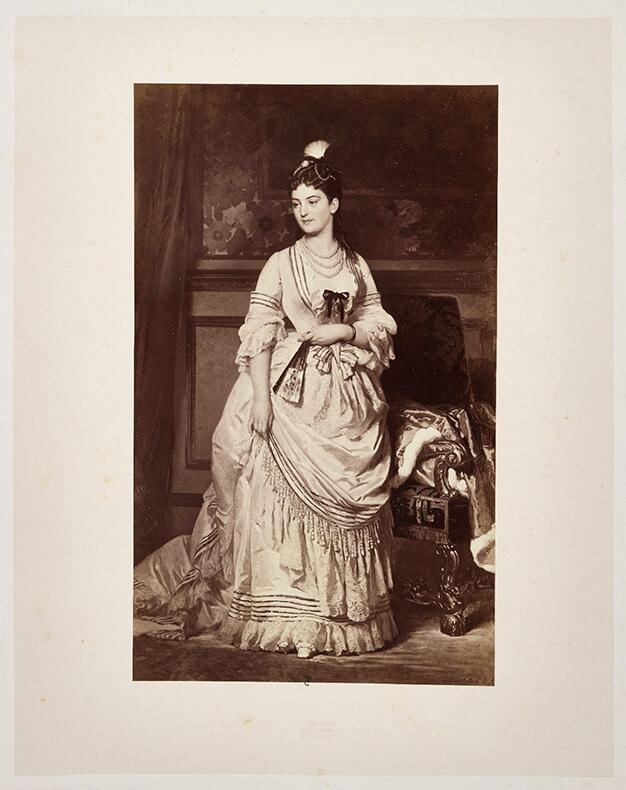 Le costume féminin à la fin du XIXe siècle