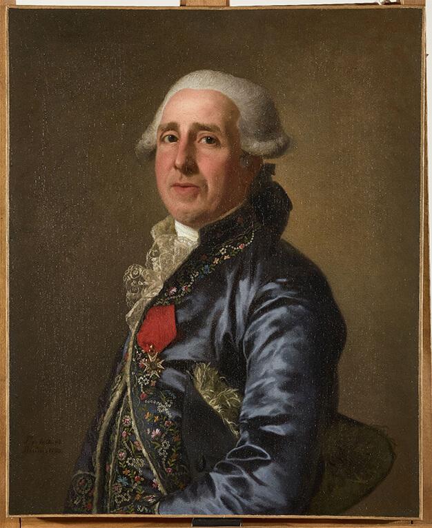 Marc-Antoine Thierry de Ville-d'Avray (1732-1792) par Alexandre Roslin, 1790