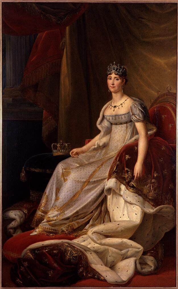 Portrait de Joséphine de Beauharnais peint par Gérard François Pascal Simon
