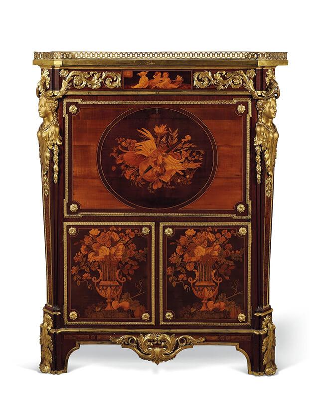 Secrétaire en armoire de Jean-Henri Riesener, Paris, 1771