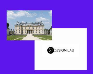 Château de Champ-Sur-Marne et logo Design lab