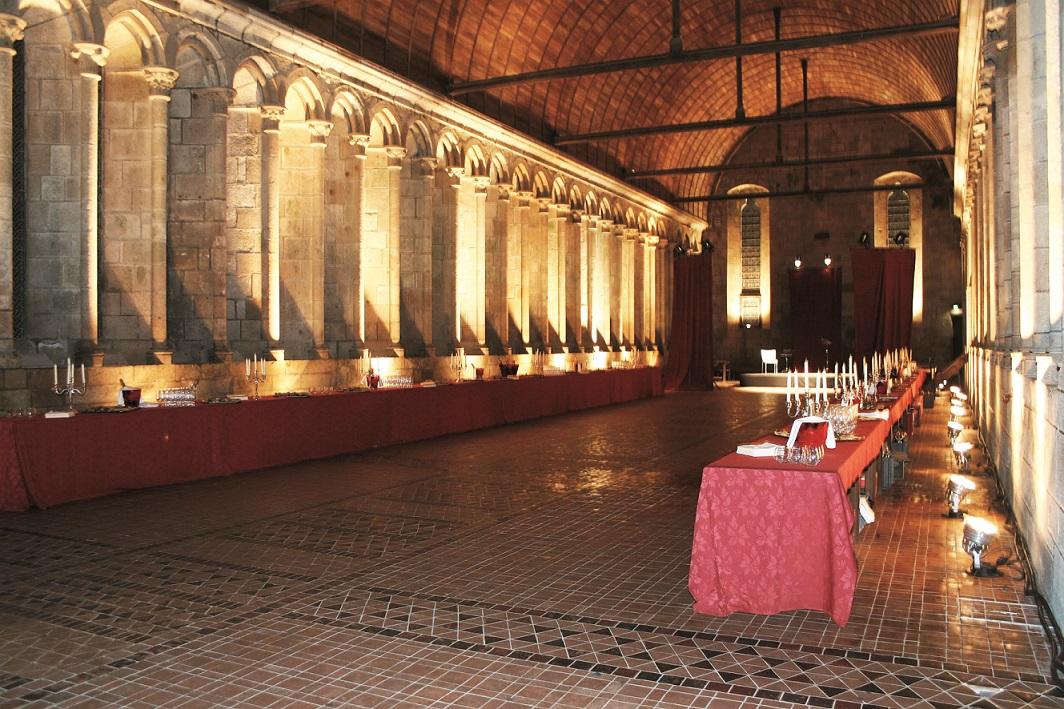 Mont Saint Michel - Abbaye