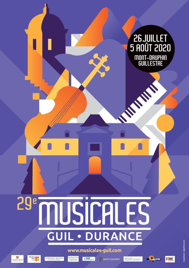 illustration couleur mont-dauphin instruments