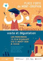 affiche gourmands d'histoire(s) illustration