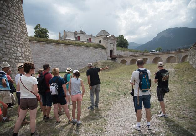 visiteurs fortifications été