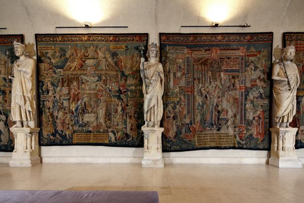 Les tapisseries du Palais du Tau à Reims