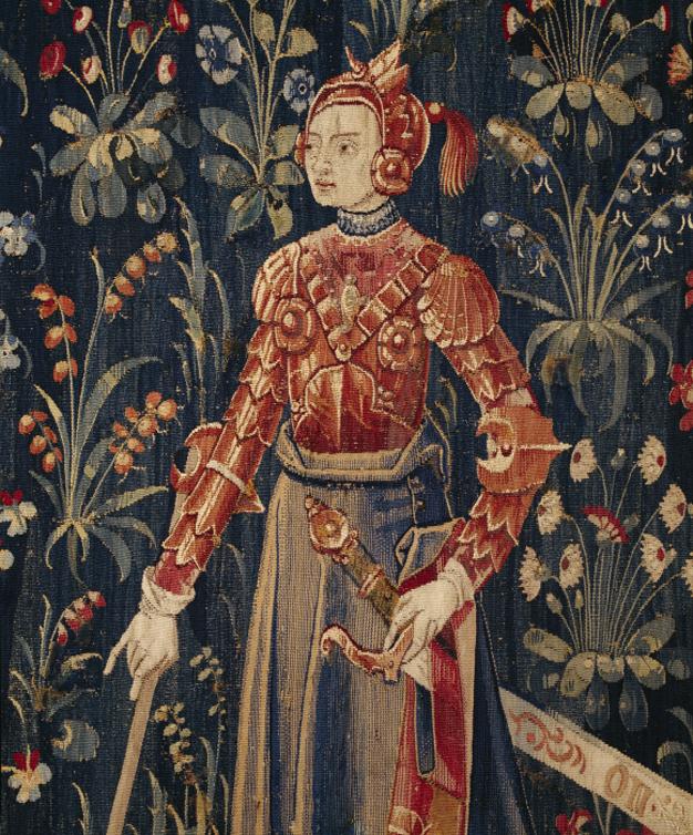 Penthésilée, détail de la reine