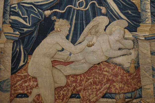 Psyché découvrant l'amour endormi